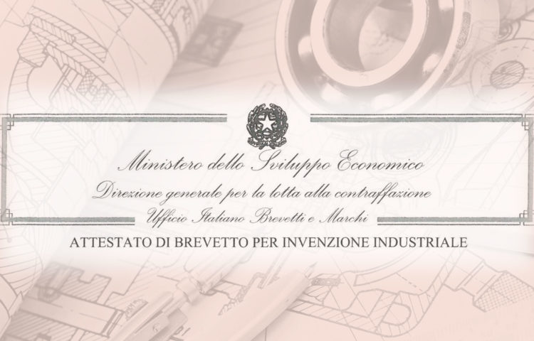 AURUM Srl brevetto industriale n. 0001397602