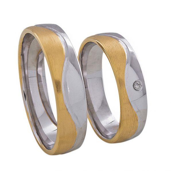 AURUM Multicolored Wedding Rings WDWE239450AD