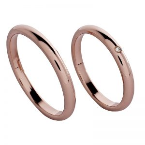 AURUM Classic Wedding Rings WDWEF25QA
