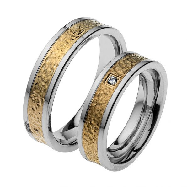 AURUM Multicolored Wedding Rings WDWE433355LZ