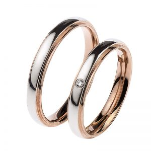 AURUM Multicolored Wedding Rings WEWD4277350A