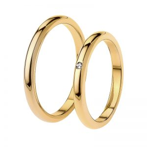 AURUM Classic Wedding Rings F3BA