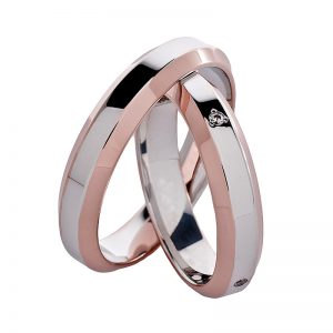 AURUM Multicolored Wedding Rings WDWE425942OA