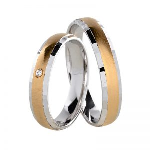 AURUM Multicolored Wedding Rings WDWE237640LM