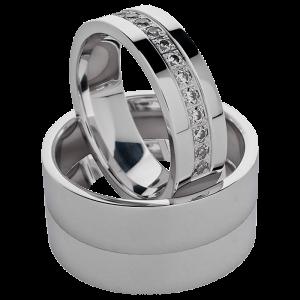 Fedi e anelli con diamanti