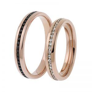 AURUM Basic and Rings with Diamonds 445635QAET