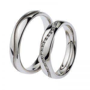 AURUM Fedi e anelli con diamanti 445243BAET