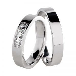 AURUM Fedi e anelli con diamanti WDWE BAGUETTE