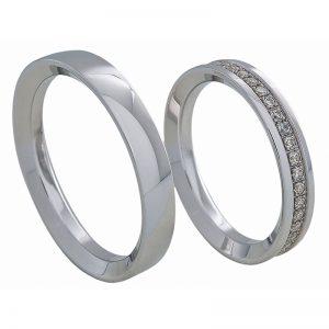 AURUM Fedi e anelli con diamanti WDWE97136BA
