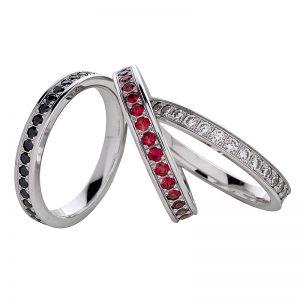 AURUM Fedi e anelli con diamanti PAVÈ RBN