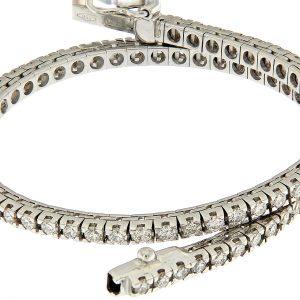 TM25-004 AURUM Srl Bracciale Tennis classico diamanti naturali