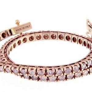 TM25-005 AURUM Srl Bracciale Tennis classico diamanti naturali